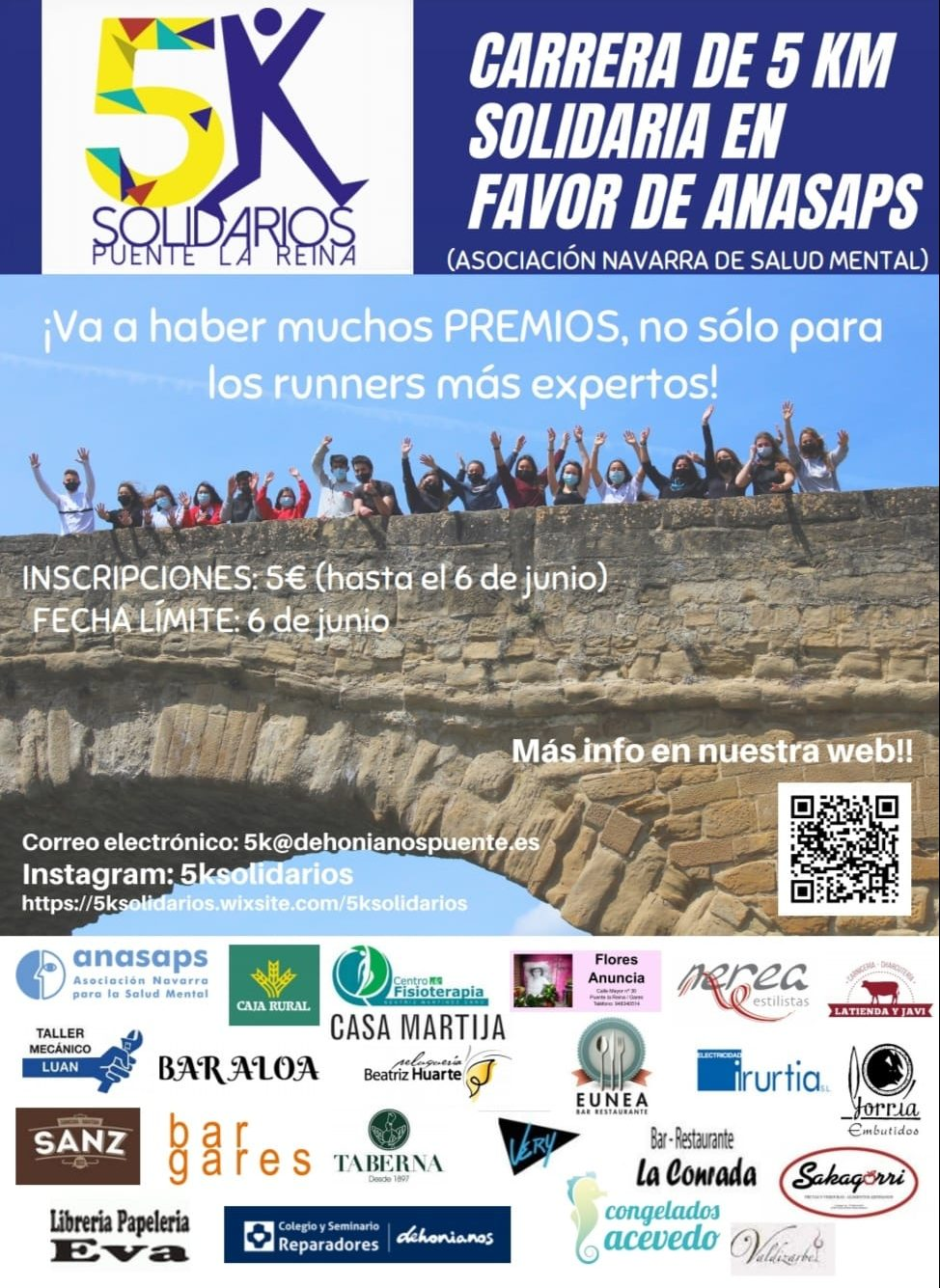 Cartel Carrera Solidaria